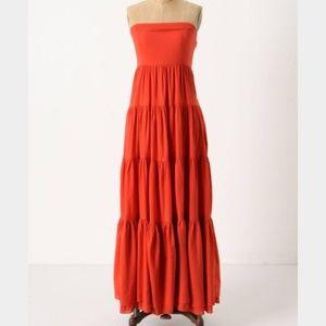 ANTHROPOLOGIE EDME & ESYLLTE  Maxi Dress US2